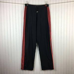 Adidas Track Pants Mesh Lined Zippered Cuffs